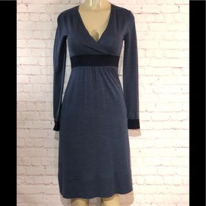 Boden long sleeve wool sweater dress